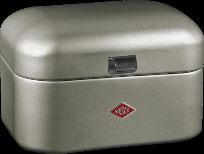 Chlebník Single Grandy 28 x 21,5 x 17 cm, nová stříbrná - Wesco