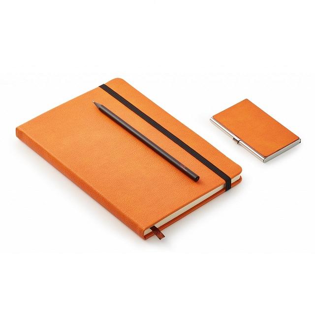 Dárkový set zápisník s tužkou a vizitkář NOTES - PHILIPPI