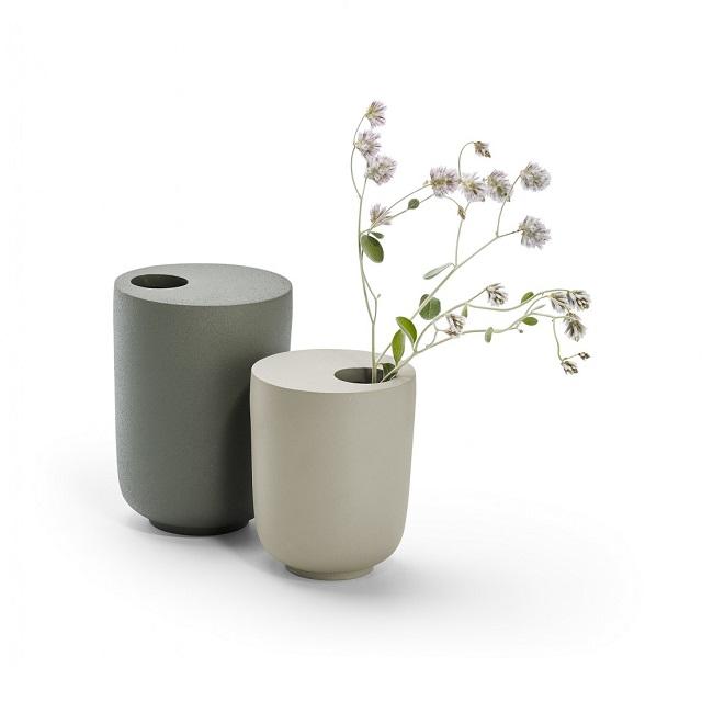 Váza 11 cm béžovo zelená KOODOO - PHILIPPI
