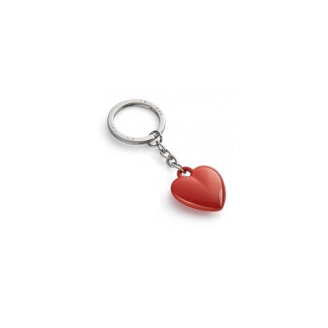 Klíčenka srdce 9 cm tm. oranžová COEUR - PHILIPPI
