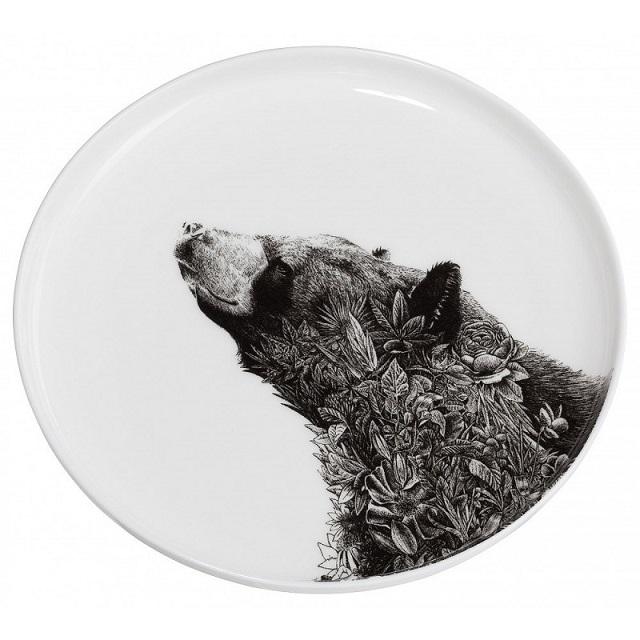 "Talíř ""Asijský černý medvěd"" 20 cm, Marini Ferlazzo - Maxwell&Williams"