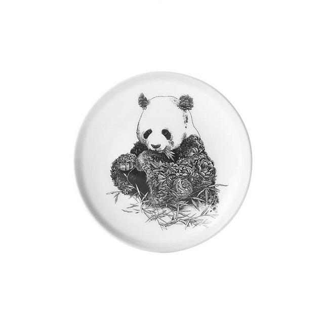 """Talíř """"Panda velká"""" 20 cm, Marini Ferlazzo - Maxwell&Williams"""