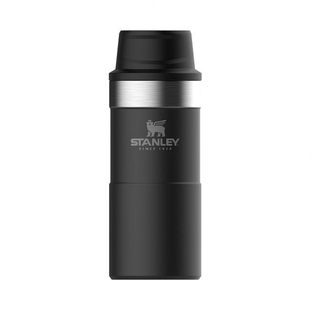 Termohrnek 350 ml the trigger-action matná černá CLASSIC - STANLEY