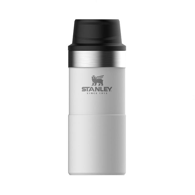 Termohrnek 350 ml the trigger-action polární bílá CLASSIC - STANLEY