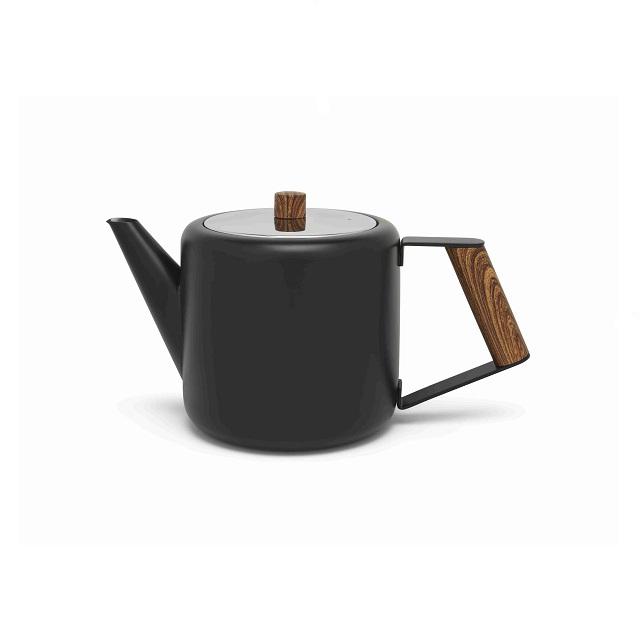 Čajová konvice 1,1l matná černá Boston - Bredemeijer