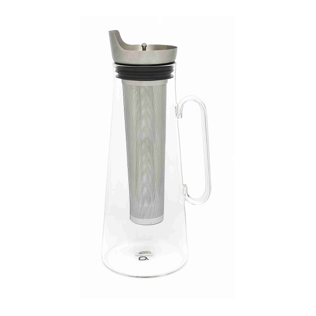 Karafa na ledový čaj s nerezovým filtrem 1,2l - Bredemaijer