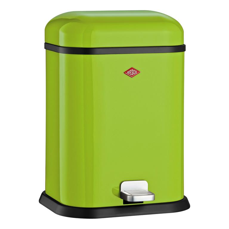 Odpadkový koš Single Boy 13l, světle zelený - Wesco