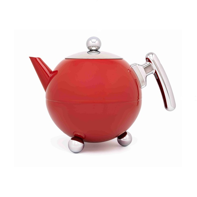 Konvička na čaj 1,2L red Bella Ronde - Bredemeijer