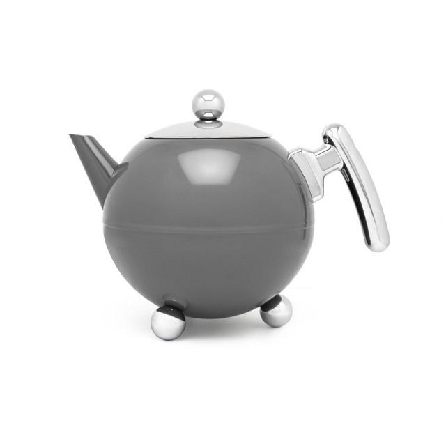 Konvička na čaj 1,2L cool grey Bella Ronde - Bredemeijer