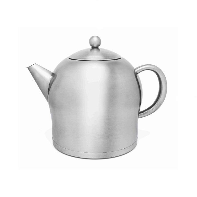 Čajová konvice 2l, nerezová matná, Santhee - Bredemeijer