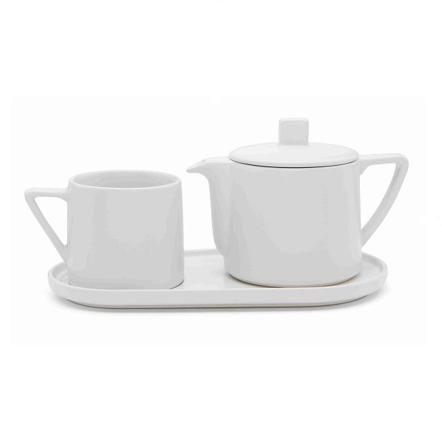 Čaj pro jednoho 0,5L bílá Lund - Bredemeijer