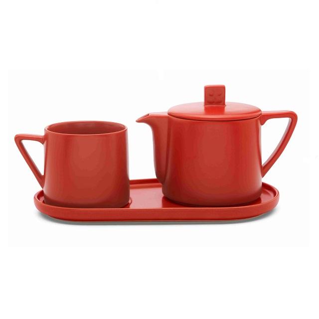 Čaj pro jednoho 0,5L červená Lund - Bredemeijer