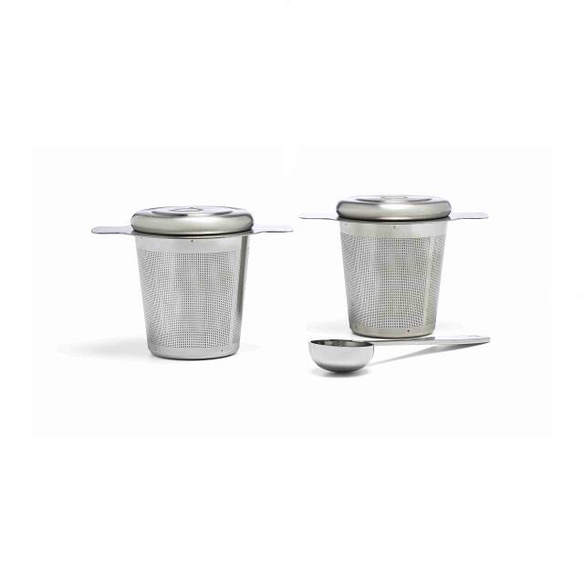 Sada 2 filtrů na čaj s odměrkou - Bredemeijer