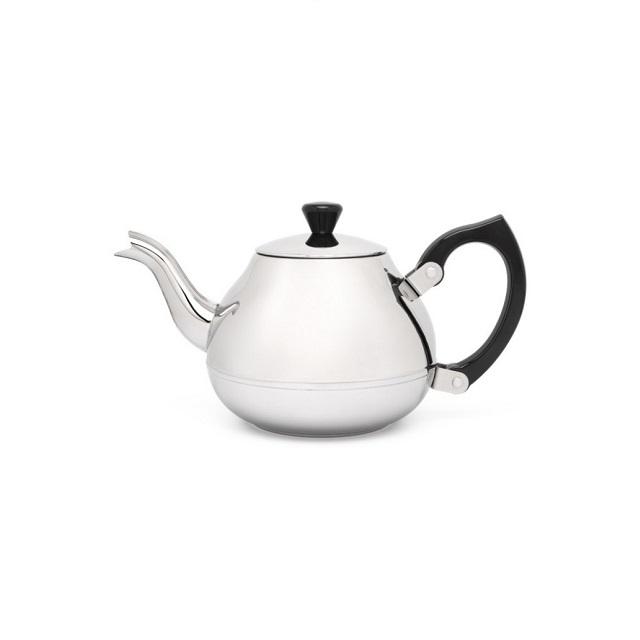 Konvička na čaj 0,75L nerezová lesklá Ceylon - Bredemeijer