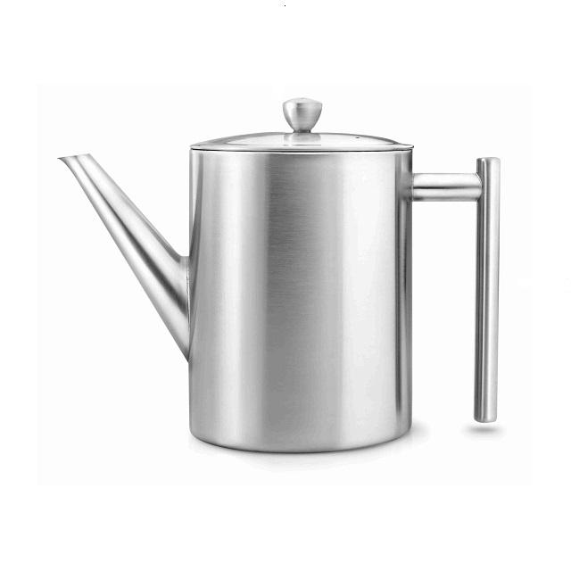 Konvička na čaj 1,2L nerezová matná Cylindre - Bredemeijer