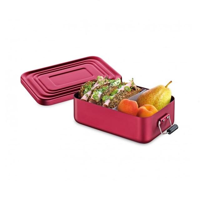 Svačinový box 18 x 12cm červená matná - Küchenprofi