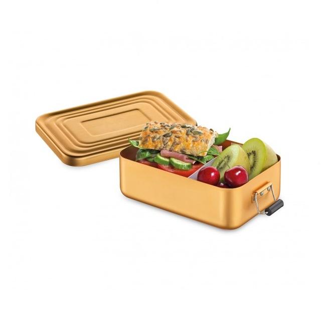 Svačinový box 18 x 12cm zlatá matná - Küchenprofi