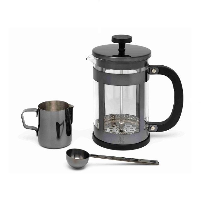 Sada na kávu 0,8L lesklá černá Vicenza - Leopold Vienna