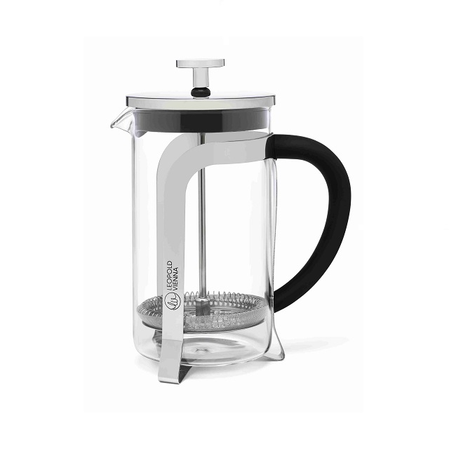 French Press 0,6L lesklá - Leopold Vienna