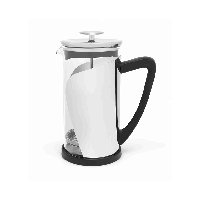 French Press 1L nerezová lesklá Carona - Leopold Vienna