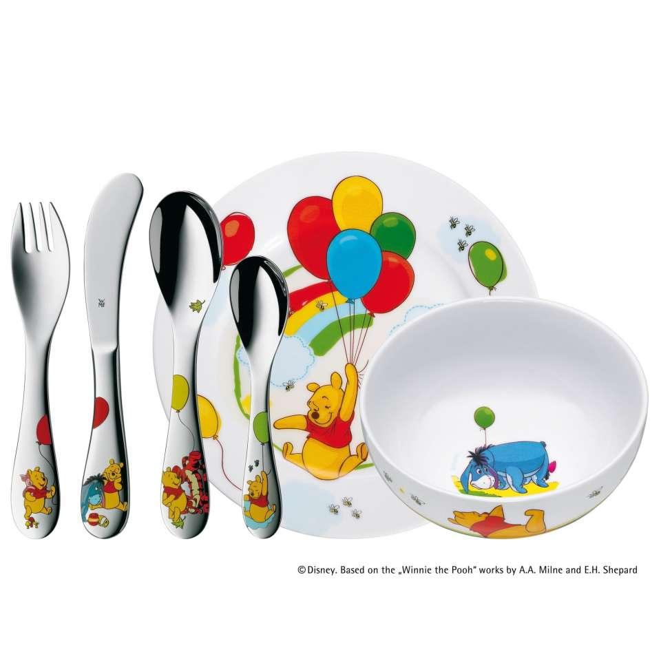 Dětský jídelní set Medvídek Pú ©Disney 6ks - WMF