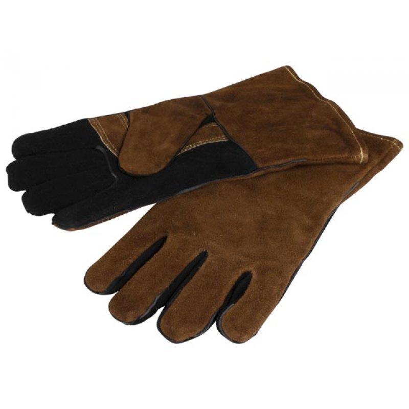 Kožené rukavice na grilování 16x33x1,5cm - GUSTA