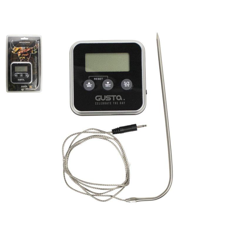 Digitální teploměr a minutka s magnetem - GUSTA