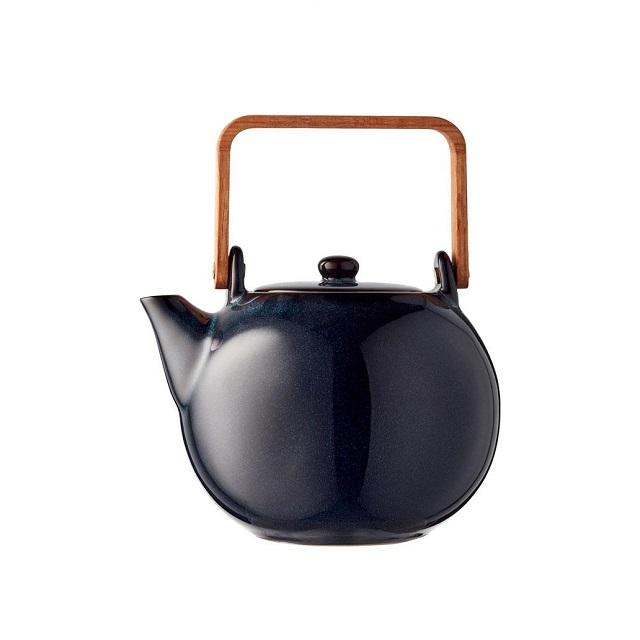 Konvička na čaj 1,2l tmavě modrá - BITZ