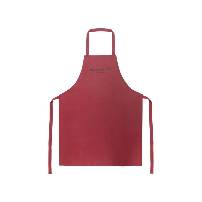 Grilovací zástěra 64 x 84 cm červená - Gusta