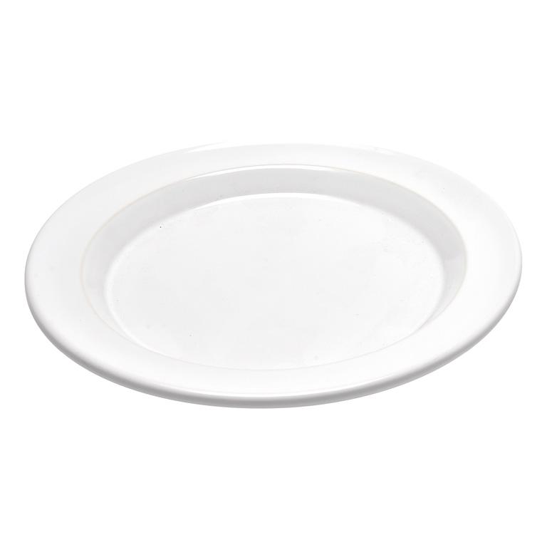 Talíř jídelní 28 cm bílý Flour - Emile Henry
