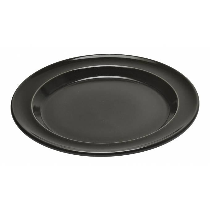 Talíř jídelní 28 cm antracitový Charcoal - Emile Henry
