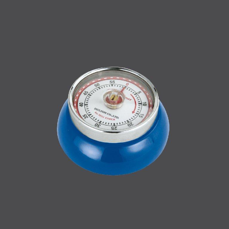 Kuchyňská magnetická minutka Speed Retro modrá - Zassenhaus