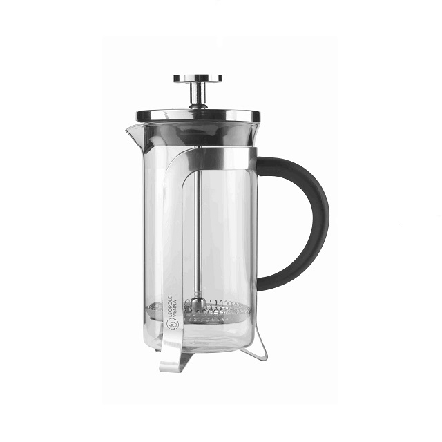 French Press 0,35L lesklá - Leopold Vienna
