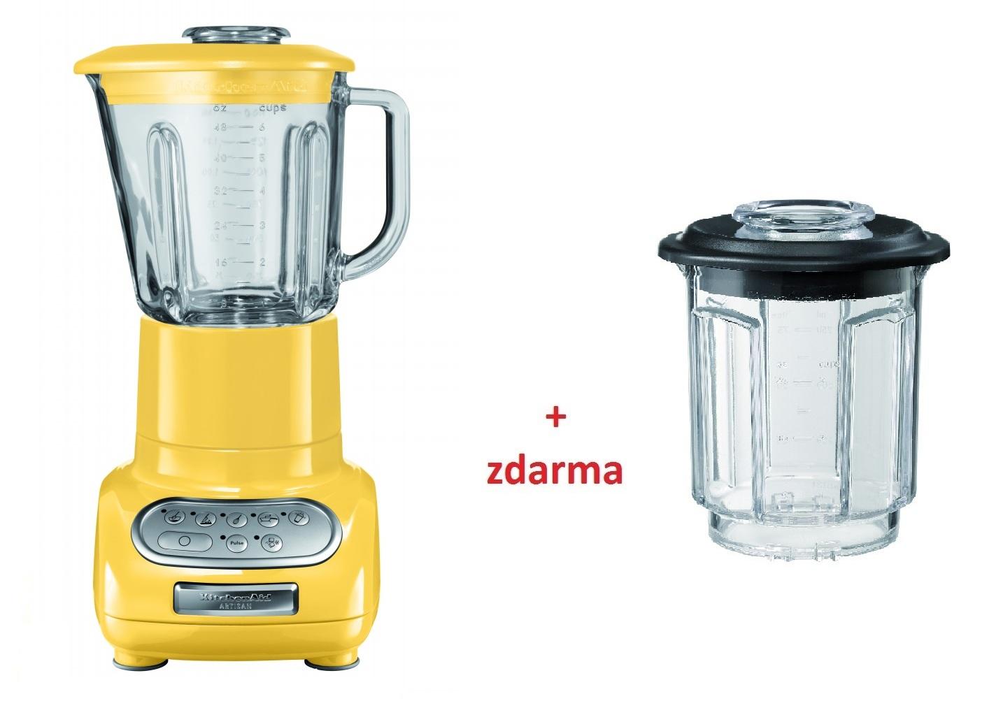 Kuchyňský mixér Artisan žlutý - KitchenAid