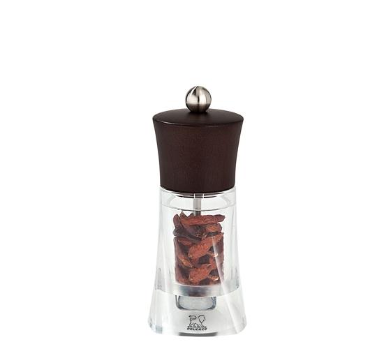 Mlýnek na chilli papričky 14 cm čokoládový Oleron - Peugeot