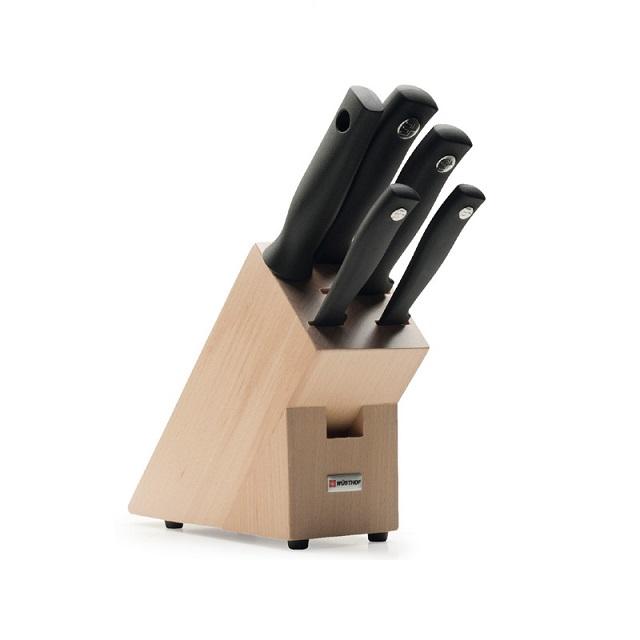 Blok s noži 5 ks SILVERPOINT - Wüsthof Dreizack Solingen