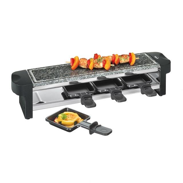 Elektrický gril Raclette, HOT STONE QUATTRO - Küchenprofi