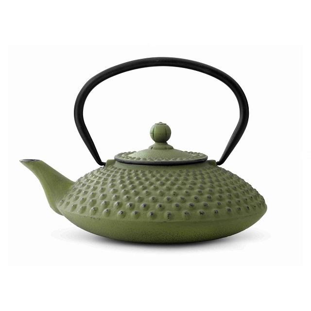 Konvička na čaj 1,25l, zelená, Xilin - Bredemeijer