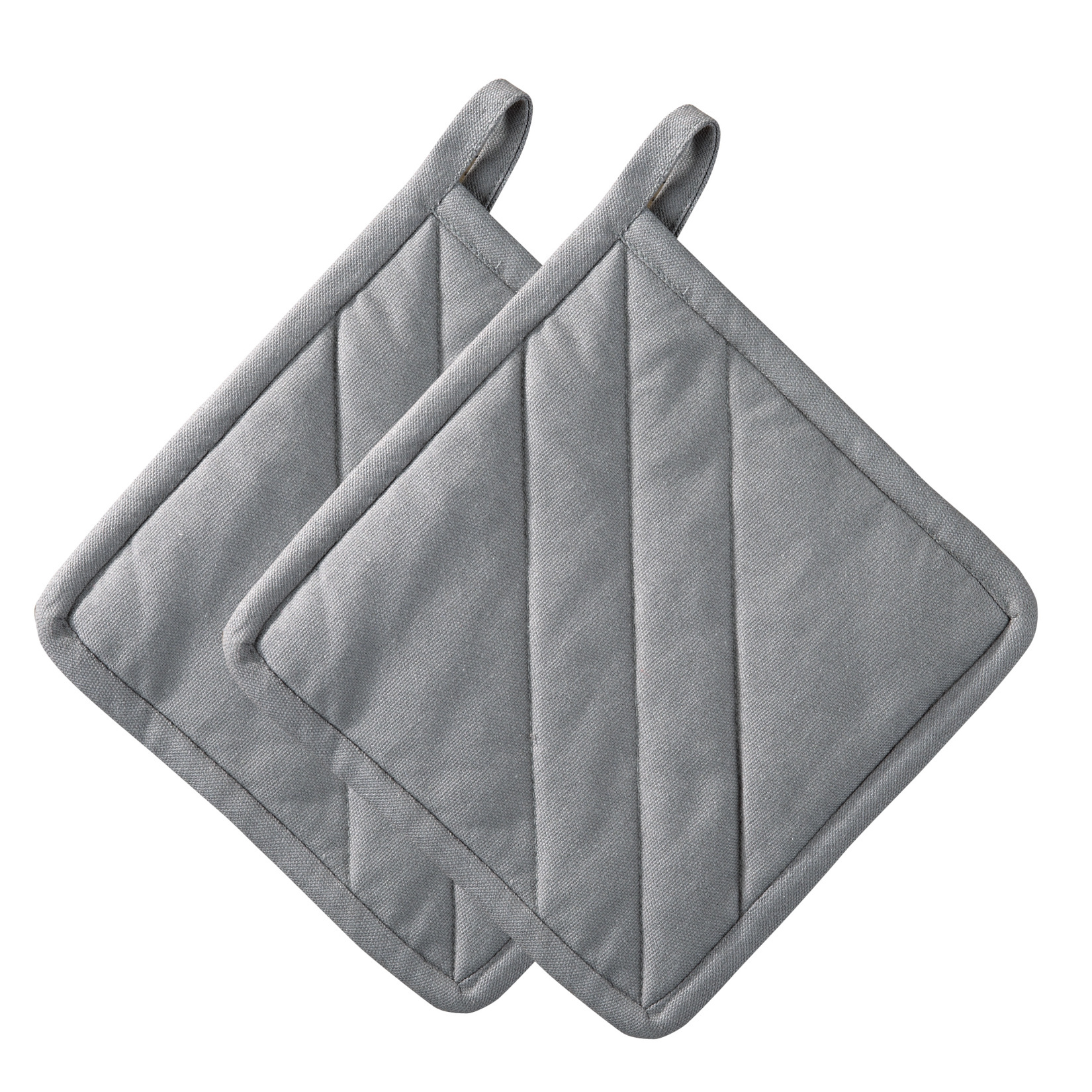 Kuchyňské chňapky 2 ks, šedé, Confetti - Zone Denmark