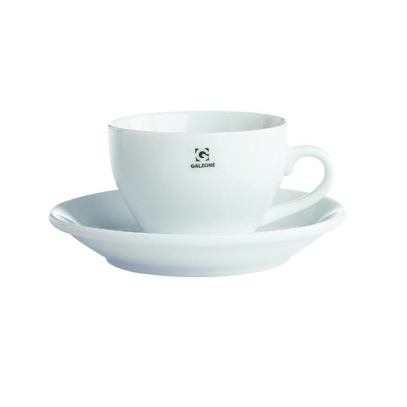 Šálek s podšálkem na cappuccino 250ml - Galzone