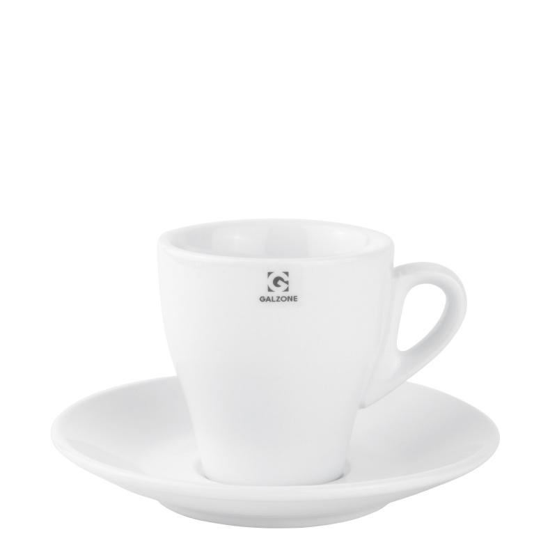 Šálek s podšálkem na cappuccino 16 cm - Galzone