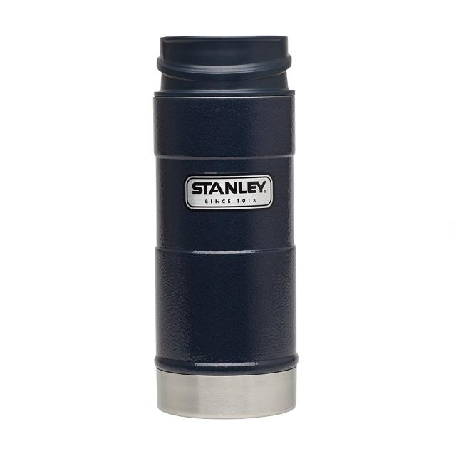 Termohrnek do 1 ruky 350 ml modrý CLASSIC - STANLEY