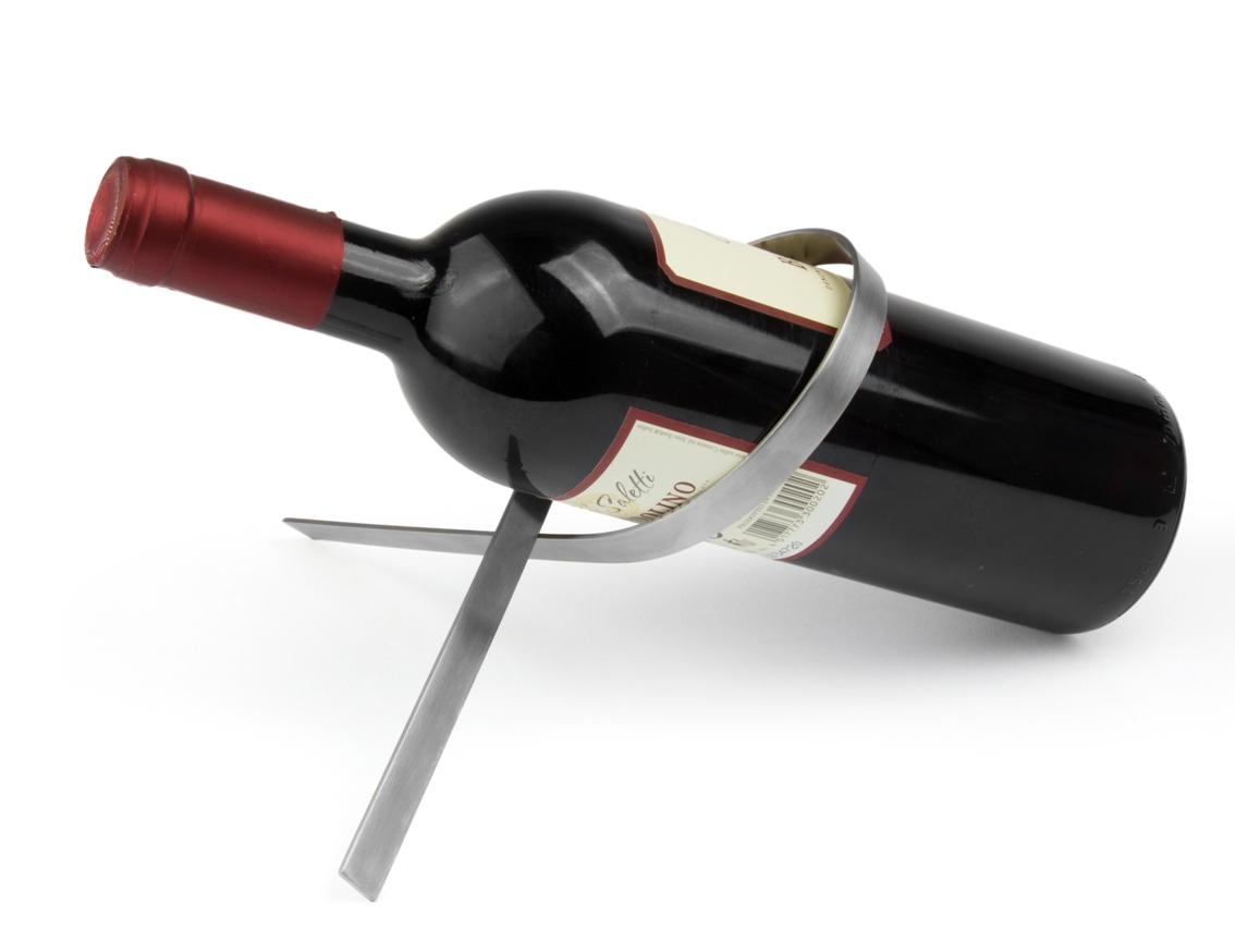 Stojan na láhev vína Nodo Black Edition - Leopold Vienna