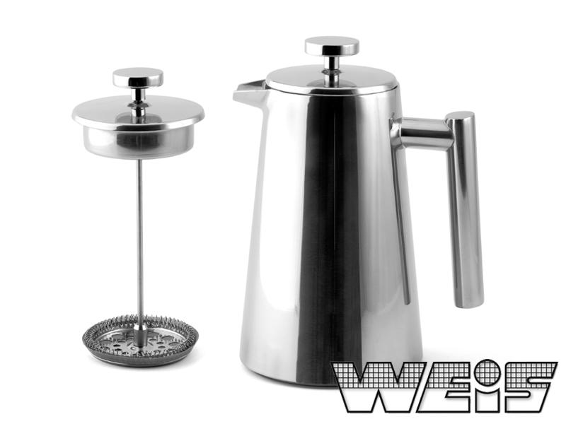 Stlačovací Kávovar 800ml - Weis