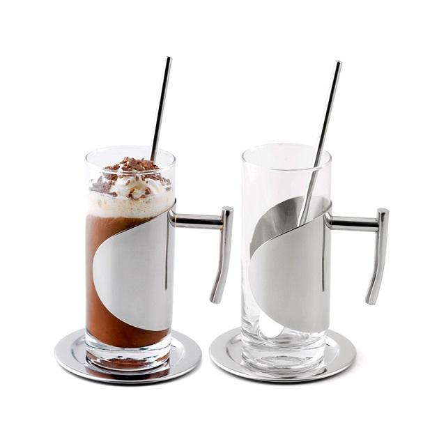 Sklenice na ledovou kávu 200 ml, 2 ks - Weis