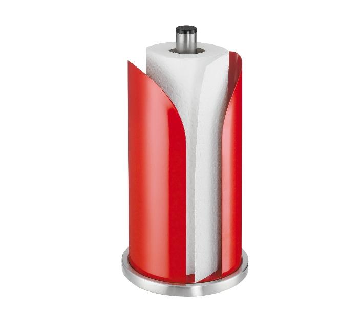 Stojan na papírové utěrky červený - Küchenprofi