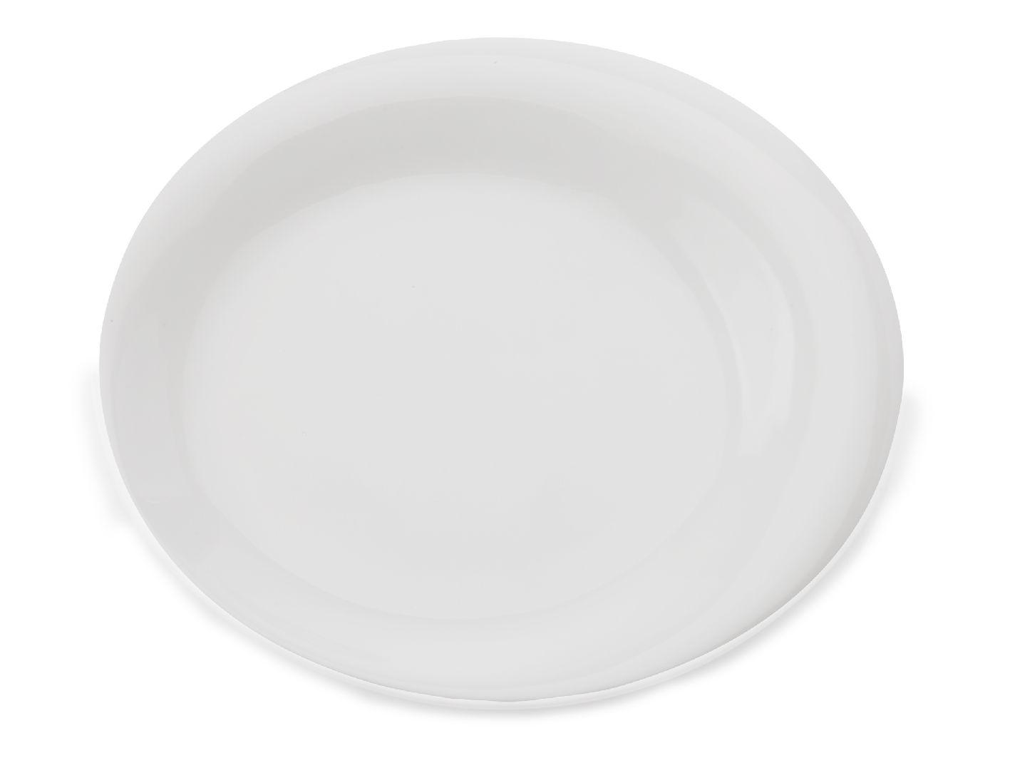 Mělký talíř White Bistro Lotic 25,5 cm - Maxwell&Williams