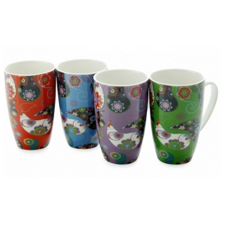Set 4 hrnků Carnaby 450 ml, MUGS - Maxwell&Williams